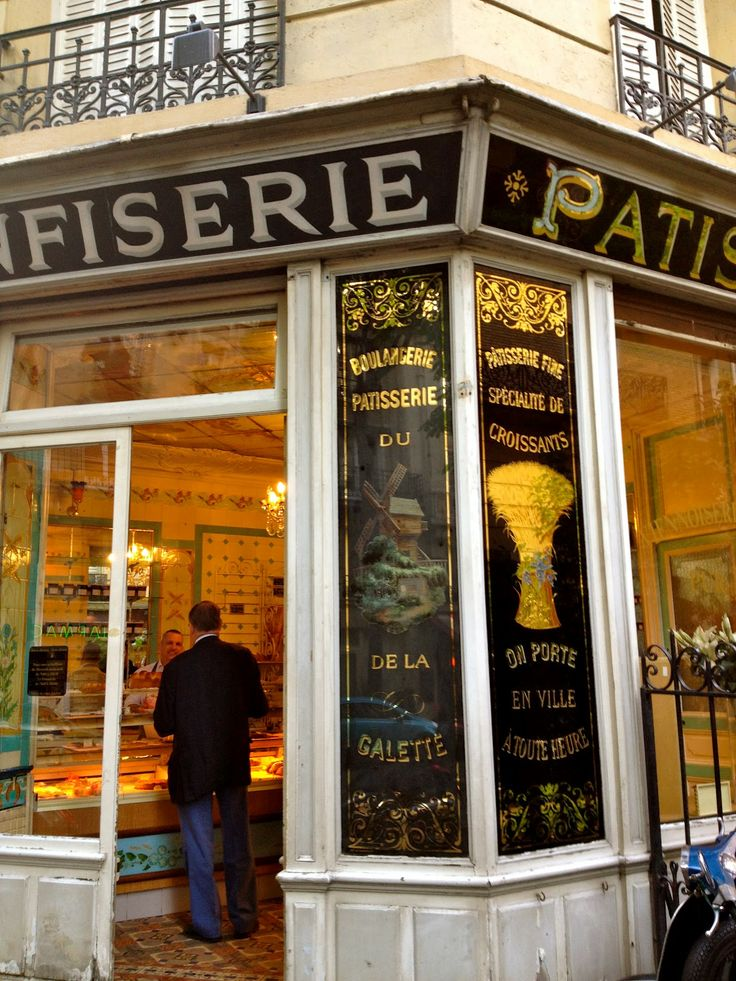 Feeling like I'm home in Montmartre... | Henri Loves Paris... #patisserie #Paris #Montmartre
