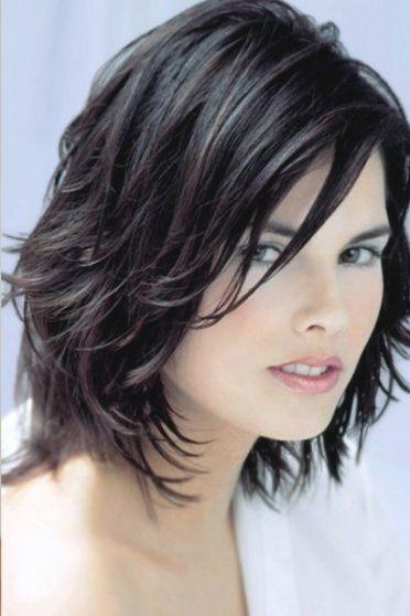 Frisur Halblanges Haar Hair Pinterest Haircuts Hair Style And