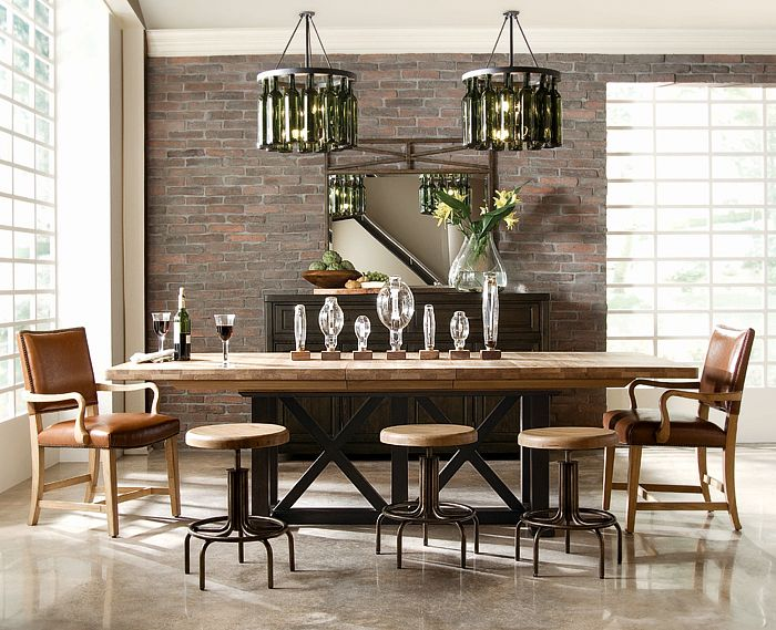 41 Best Dining Room Tables Images On Pinterest  Zinc Table Delectable Industrial Style Dining Room Tables Design Ideas