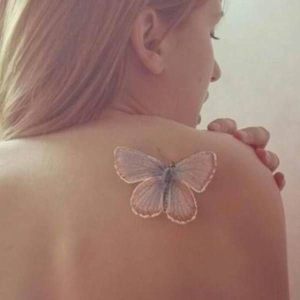 White Ink Is Changing The Way We Look At Tattoos, These Are Beautiful - Better as a dragonfly