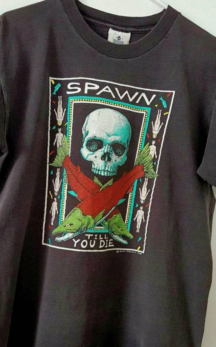 Spawn Shirt, Ray Troll Shirt, Nude Shirt by ResouledGypsy on Etsy