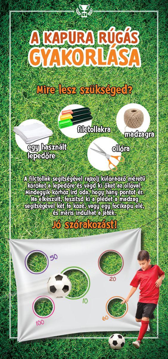 Gyakorold otthon a kapura rúgást, és legyél te a legmenőbb a pályán! #TescoMagyarország #foci #labdarugas #sport