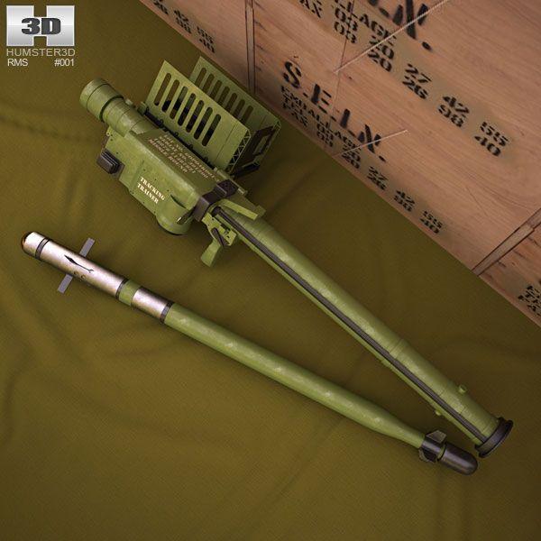 FIM-92 Stinger 3d model from humster3d.com. Price: $75