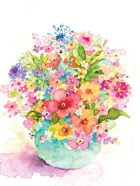 Liz Yee - Flower Pot 2 Wc