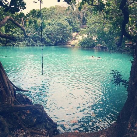 Why not explore the blue lagoon with your friends and family? only in Vanuatu!
