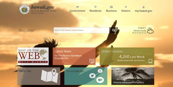 21 of the Best State Government Website Designs
