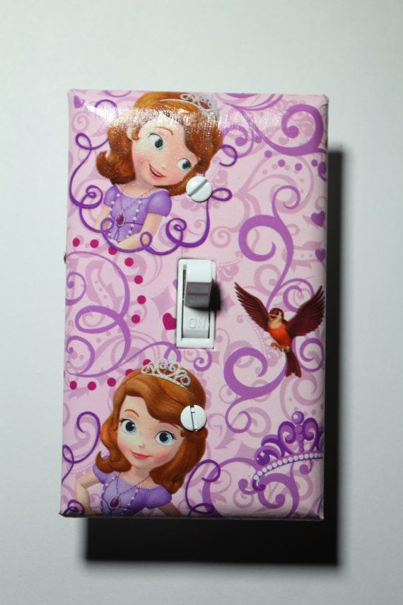 Sofia The First Disney Jr Light Switch Plate