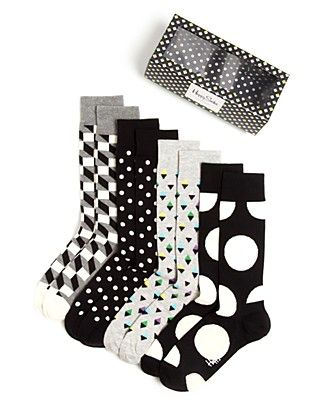 These Happy Socks are a fun complement to Dad's serious suits. (cc: @happysofficial)