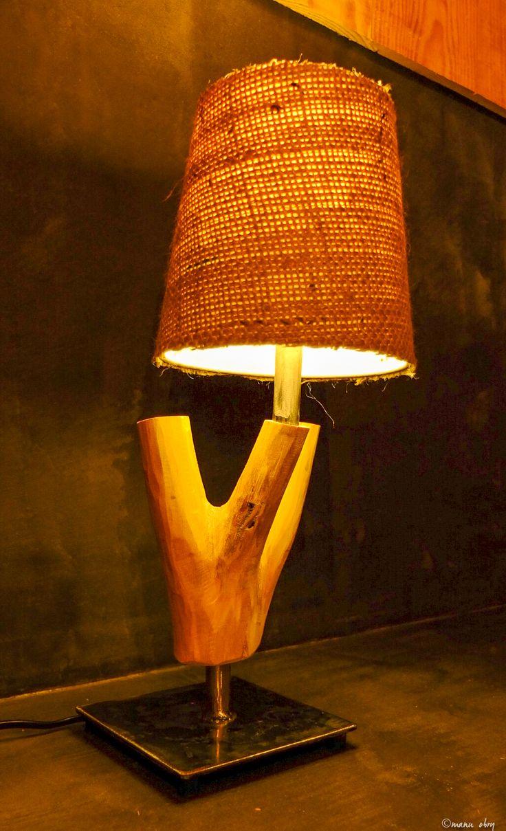 lampe robinier