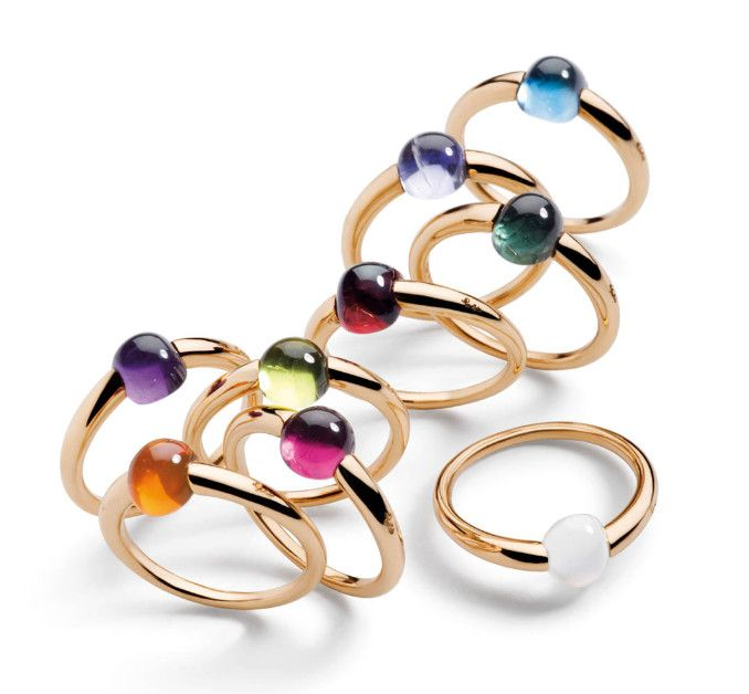 Pomellato: Fashion, Style, Jewellery, Jewelry, Jewels, Accessories, M Ama Rings, Pomellato M Ama