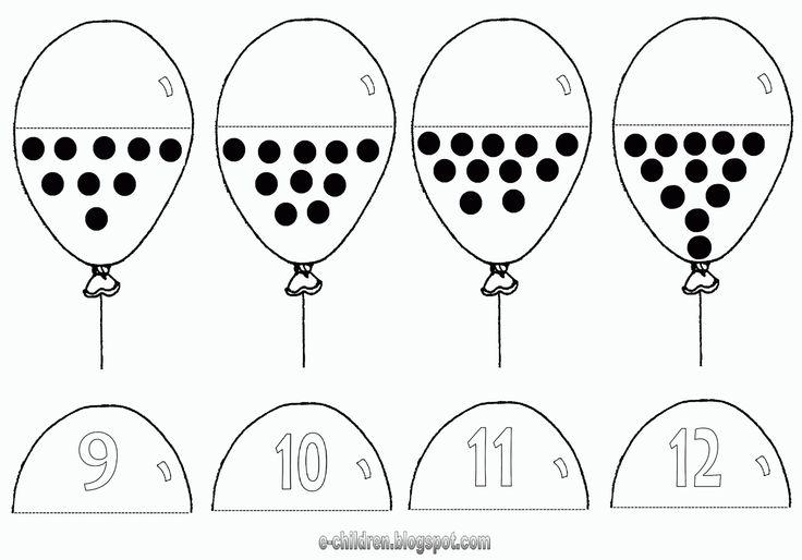 Tellen met ballonnen 3