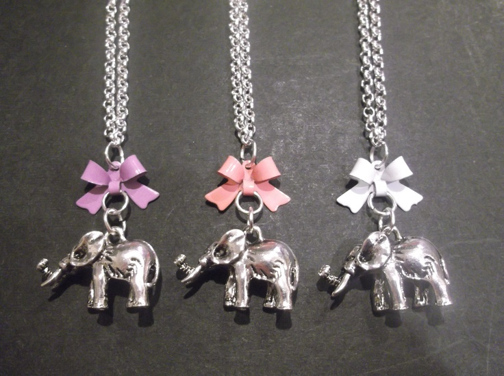Metal Elephants with different coloured bows  Please state what colour you would like.  Length-49cm  Price- $20  Contact- kendal.halloran@gmail.com