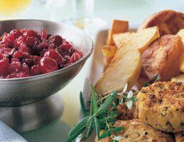 Cranberry-Currant Sauce