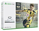Xbox One S FIFA 17 Bundle (500GB) by Microsoft Platform: Xbox OneRelease Date: 22 Sept. 2016Buy new:   £224.00 (Visit the Bestsellers in PC & Video Games list for authoritative information on this product's current rank.) Amazon.co.uk: Bestsellers in PC & Video Games...