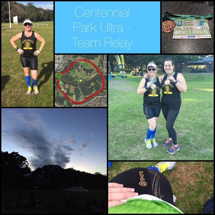 Centennial Park Ultra Team Relay. So glad I didn't tear my favorite #SKINS shorties when I fell