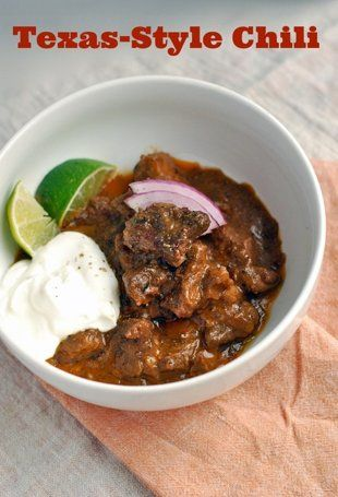 Texas style chili with chocolate and beer.