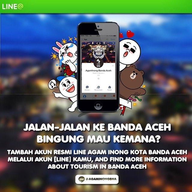 """It's OFFICIAL! AgamInong Duta Wisata Kota Banda Aceh baru saja melakukan launching Akun Resmi LINE @AgamInongBNA bertepatan dengan HUT Kota Banda Aceh Ke-810.  Kegiatan Launching ini dilakukan pada panggung HUT Kota Banda Aceh Ke-810 yang sedang berlangsung saat ini di Balai Kota Banda Aceh.  Harapannya akun resmi ini dapat membantu para wisatawan yg akan dan sedang berkunjung ke Banda Aceh, serta menjadikan ini sebagai """"911 Pariwisata Kota Banda Aceh"""" dengan tersedianya fitur LIVE MODE…"""