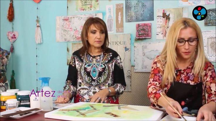 Composición abstracta - Nora Pareja en Artez TV