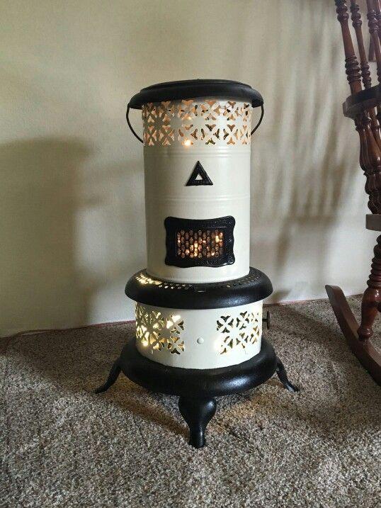 Vintage kerosene heater DIY