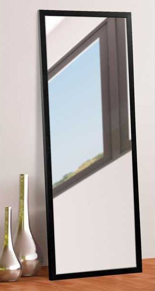 This Contemporary Black Leaner Mirror Was Built Locally In Englewood,  Colorado By American Furniture Warehouse