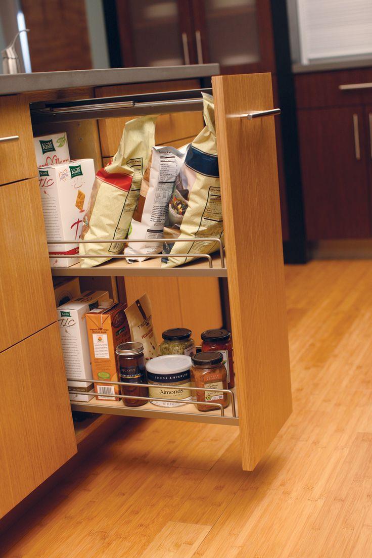 46 best Polished Pantries images on Pinterest | Kitchen, Storage ...