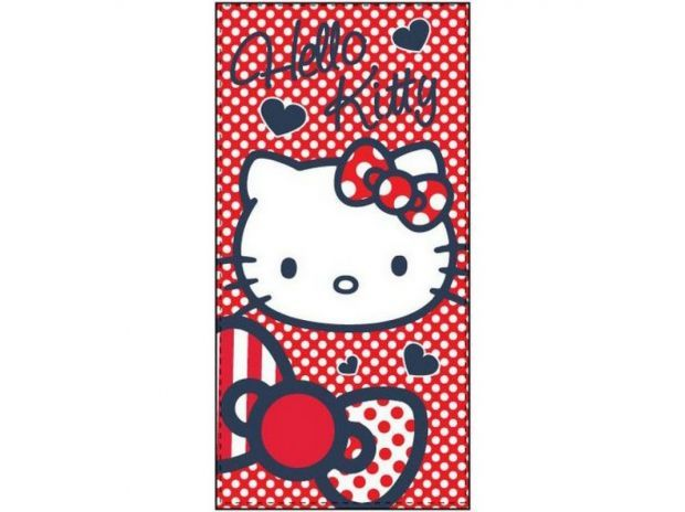 Photos Vivastreet Serviette Hello Kitty 70 x 140 cm