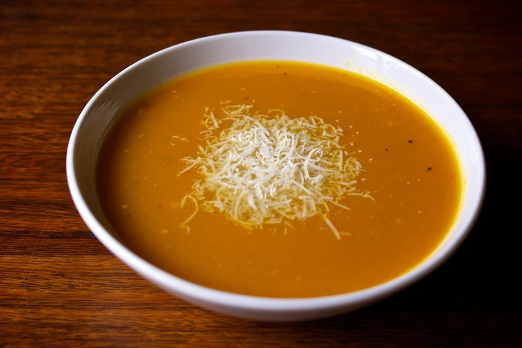 Roast pumpkin soup. Great for the winter.