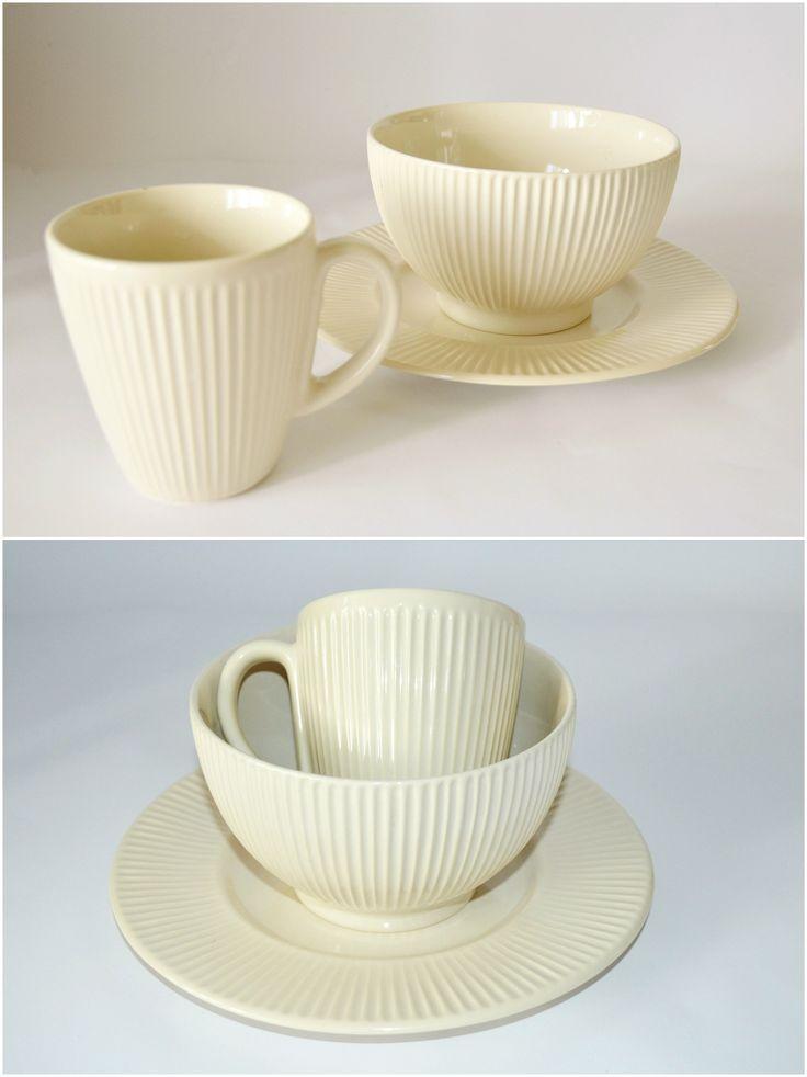 Baked Milk - набор посуды для завтрака на 1 персону. ЧАШКА + ПИАЛА + ДЕСЕРТНАЯ ТАРЕЛКА. Глазурованная керамика. Подходит для микроволновой печи и для посудомоечной машины.  --  Цена 320 грн.  --  #красиваяпосуда #посуд #посуда #керамика #ceramics #pottery #polishpottery   ceramic tableware | pottery | polish pottery | посуда | керамическая посуда | польская керамика  | польская посуда | керамика | красивая посуда | наборы для завтрака
