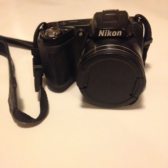 Nikon L110 Takes batteries. Strap and batteries will be included. Works fine, I just never use it! Make me offers! Nikon Other