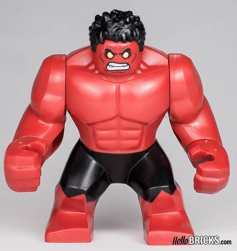 Lego 76078 - Marvel - Hulk vs Red Hulk