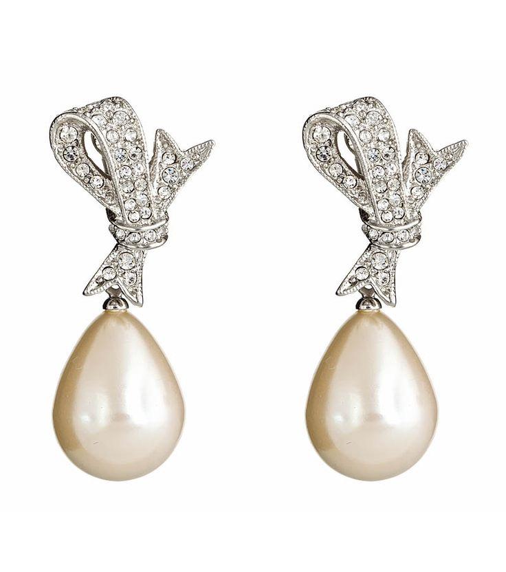 Pearl Teardrop Earring