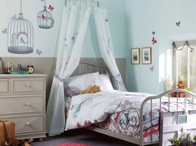 Le ciel de lit, simple et efficace