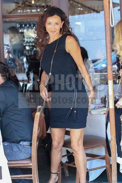 Sofia Milos Sighted at Lunch in Beverly Hills on October 12 2017