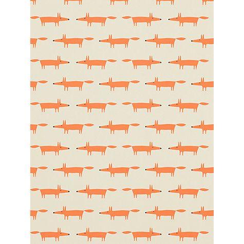 Buy Scion Little Fox Wallpaper Online at johnlewis.com