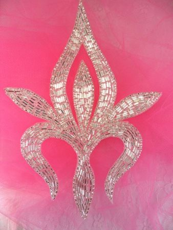 "Silver Beaded Motif Applique 7.5"" -- this one?"