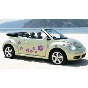 vw beetle with stickers - Bing Images