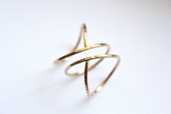 siren spiral ring | elisha marie jewelry