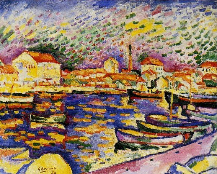 L'estaque. / Fauvisme. / By Georges Braque.