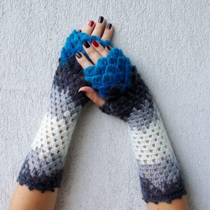 8 besten Dragon scale gloves Bilder auf Pinterest   Handschuhe ...