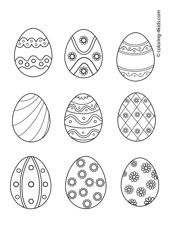 complex easter coloring pages - photo#12