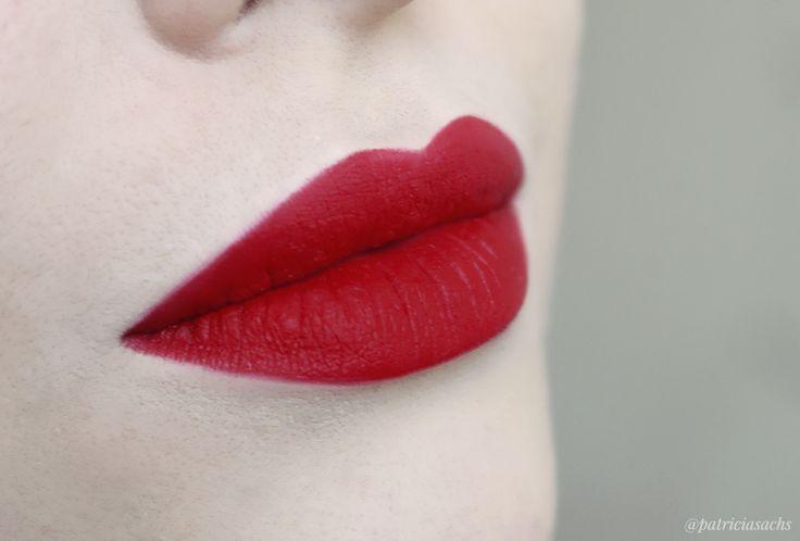 Review: Lipstick Retro Matte Ruby Woo - MAC Cosmetics  / Resenha: Batom Retro…