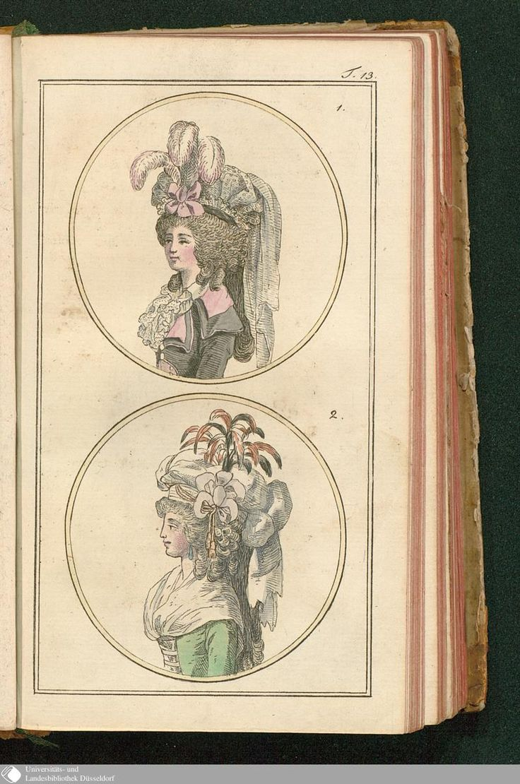 Journal des Luxus und der Moden, Tafel 13, May 1788.