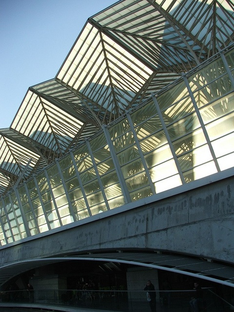 Oriente Station,Constructed for the 1998 expo