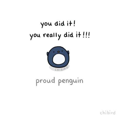 Proud Penguin - Chibird