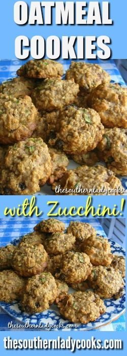 Zucchini Oatmeal Cookies are a great way to use up all that zucchini from the garden or frozen shredded zucchini. Your children will not even realize they are eating a vegetable in these oatmeal cookies. …