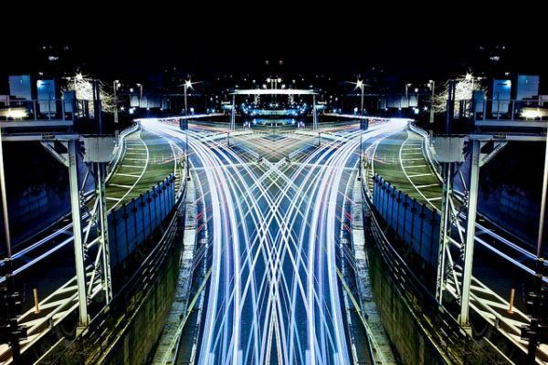 graffiti of speed  mirror of symmetry (4) by  Shinichi Higashi - Cityscape Photography by Shinichi Higashi  <3 <3