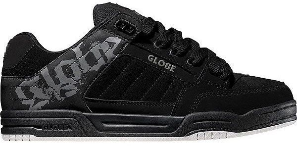 Globe Skate Shoes TILT BLACK/CHARCOAL/WHITE #Globe #Skateboarding Men's size 8