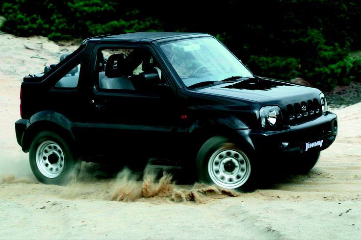 Suzuki  Jimny Cabrio.