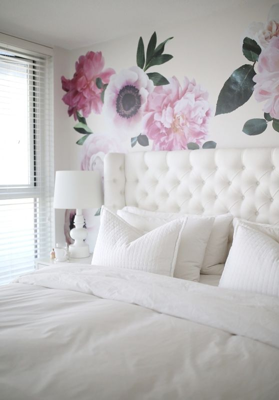 Best 25 Flower Wall Decals Ideas On Pinterest Floral