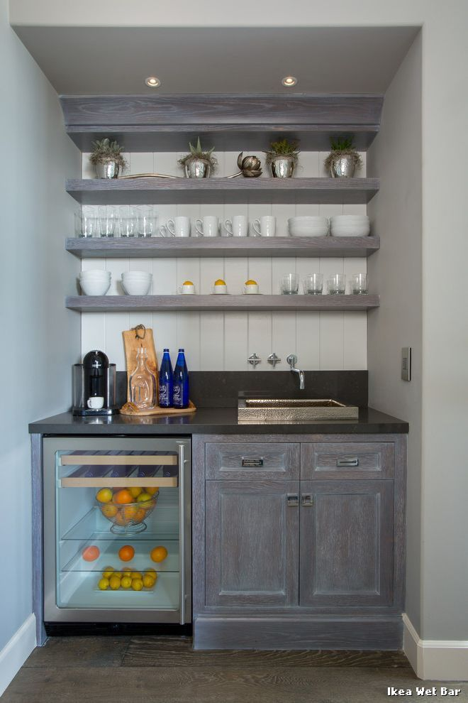 ikea wet bar with classique chic bar de salon